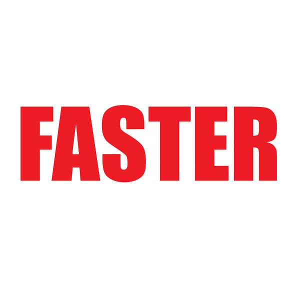 Faster Front Logo Graphic